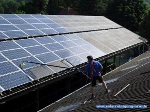 Solarreinigung NRW - Solarreinigung und Photovoltaik Reinigung Münster und Umgebung