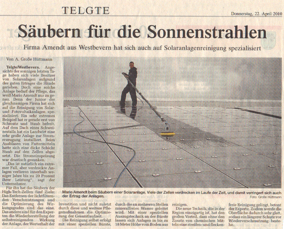 Solarreinigung NRW - Solarreinigung und Photovoltaik Reinigung -saeubern-fuer-die-Sonnenstrahlen