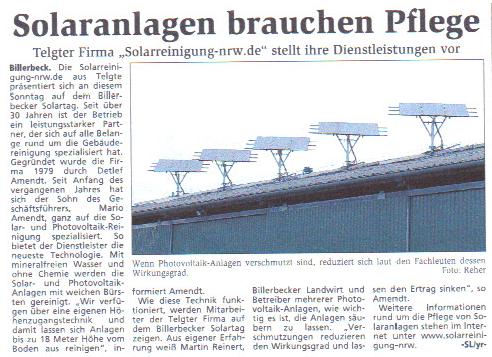 Solarreinigung NRW - Solarreinigung und Photovoltaik Reinigung solaranlagen-brauchen-pflege